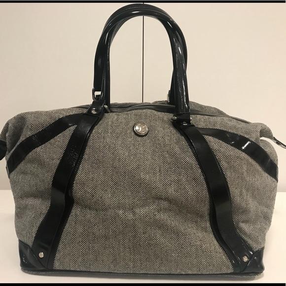 lululemon athletica Handbags - lululemon herringbone travel duffle fd9bbbc33fb01